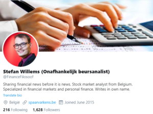Twitter Stefan Willems Financefilosoof